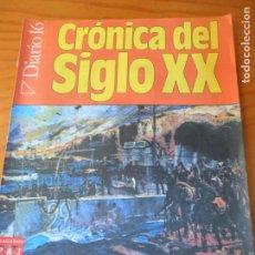 Coleccionismo de Revista Cambio 16: DIARIO 16, CRONICA DEL SIGLO XX FASCICULO Nº 28, MI LUCHA DE HITLER Y REUNION KU KLUX KLAN -. Lote 143673790