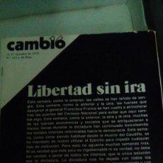 Coleccionismo de Revista Cambio 16: CAMBIO16 Nº 253 OCTUBRE 1976. LIBERTAD SIN IRA.. Lote 148683930