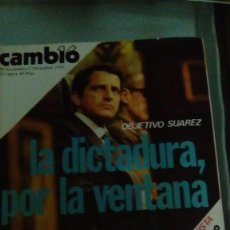 Coleccionismo de Revista Cambio 16: CAMBIO16 Nº 260 NOV-DIC 1976. OBJETIVO SUÁREZ. LA DICTADURA, POR LA VENTANA. CEUTA Y MELILLA, PLAZAS. Lote 148972474