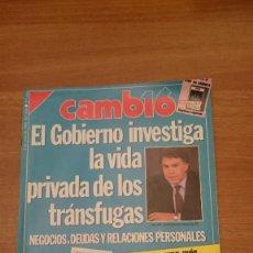 Coleccionismo de Revista Cambio 16: REVISTA CAMBIO 16- -3 D JULIO DE 1989- Nº 918- . Lote 150080074