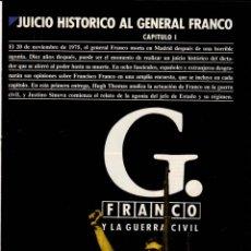 Coleccionismo de Revista Cambio 16: JUICIO HISTÓRICO AL GENERAL FRANCO - FASCÍCULOS I AL VIII / CAMBIO16. Lote 151058574