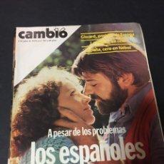 Coleccionismo de Revista Cambio 16: CAMBIO 16 JULIO 1978 Nº 343 MAURICE BÉJART MUNDIAL SELECCION ESPAÑOLA NADIUSKA MAZINGER Z EN PROGRAM. Lote 151132002