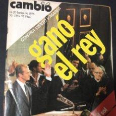Coleccionismo de Revista Cambio 16: CAMBIO 16 JUNIO 1976 Nº 236 . Lote 151132406