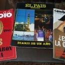Coleccionismo de Revista Cambio 16: LOTE 3 REVISTAS EXTRA CAMBIO 16 - 10 AÑOS - DIARIO DE UN AÑO - ES SOCIALISTA LA GUARDIA CIVIL. Lote 159692534