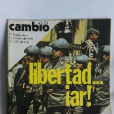 Coleccionismo de Revista Cambio 16: REVISTA CAMBIO 16 N 251. Lote 163427318