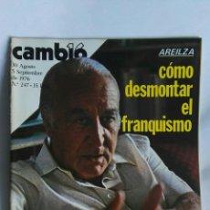 Coleccionismo de Revista Cambio 16: REVISTA CAMBIO 16 N 247. Lote 163427352
