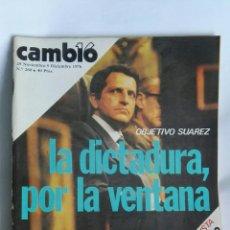 Coleccionismo de Revista Cambio 16: REVISTA CAMBIO 16 N 260. Lote 163427385