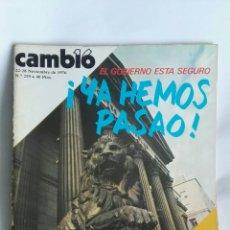 Coleccionismo de Revista Cambio 16: REVISTA CAMBIO 16 N 259. Lote 163427480