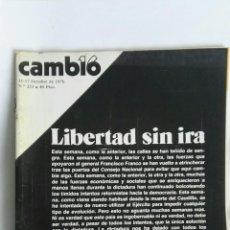 Coleccionismo de Revista Cambio 16: REVISTA CAMBIO 16 N 253. Lote 163427548
