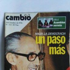 Coleccionismo de Revista Cambio 16: REVISTA CAMBIO 16 N 252. Lote 163427582