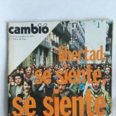 Coleccionismo de Revista Cambio 16: REVISTA CAMBIO 16 N 258. Lote 163427616
