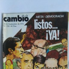 Coleccionismo de Revista Cambio 16: REVISTA CAMBIO 16 N 250. Lote 163427653