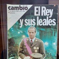 Coleccionismo de Revista Cambio 16: CAMBIO 16 N.484 MARZO 1981. Lote 163897474