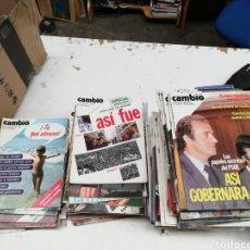Coleccionismo de Revista Cambio 16: REVISTA CAMBIO16. Lote 165168345