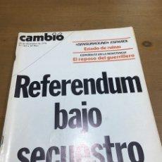 Coleccionismo de Revista Cambio 16: CAMBIO 16 NÚMERO 263. Lote 165981994