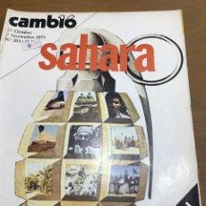 Coleccionismo de Revista Cambio 16: CAMBIO 16. NÚMERO 203. Lote 165982574