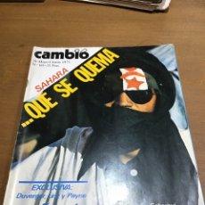 Collezionismo di Rivista Cambio 16: CAMBIO 16 NÚMERO 181. Lote 165982910