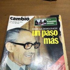 Coleccionismo de Revista Cambio 16: CAMBIO 16 NÚMERO 252. Lote 165983242