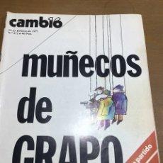 Coleccionismo de Revista Cambio 16: CAMBIO 16 NÚMERO 272. Lote 165983334