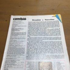 Coleccionismo de Revista Cambio 16: CAMBIO 16 NÚMERO 248. Lote 165984632
