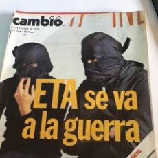 Coleccionismo de Revista Cambio 16: CAMBIO 16 NÚMERO 254. Lote 166019982