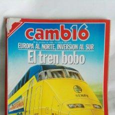 Coleccionismo de Revista Cambio 16: REVISTA CAMBIO 16 N° 882 1988. Lote 170572444