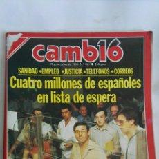 Coleccionismo de Revista Cambio 16: CAMBIO 16 OCTUBRE 1988. Lote 171716718