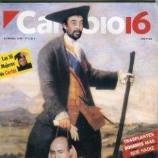 Coleccionismo de Revista Cambio 16: CAMBIO 16 Nº 1216-JOAQUIN CORTES, LAS CHICAS (5 PAG.15 FOT.)-BOB DYLAN (2 PAG 2 FOTOS)- MARZO 1995. Lote 172565939