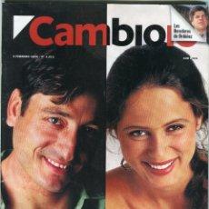 Coleccionismo de Revista Cambio 16: CAMBIO 16 Nº 1211-ENTREVISTAS CARMELO GOMEZ/AITANA SÁNCHEZ GIJON/JOSE SACRISTAN-XIAOPING- FEBR. 1995. Lote 172569054