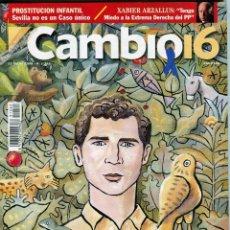 Coleccionismo de Revista Cambio 16: CAMBIO 16 Nº 1262 - CASO ARNY SEVILLA - ELIZABETH BERKLEY - LA CUBANA CEGADA DE HUMOR - ENERO 1996. Lote 172570873