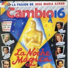 Coleccionismo de Revista Cambio 16: CAMBIO 16 Nº1269-OSCARS 28 PAG.CON FOTOS SEAN PENN-MEL GIBSON-EMMA THOMPSON-MERYL STREEP- MARZO1996. Lote 172571948