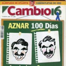 Coleccionismo de Revista Cambio 16: CAMBIO 16 Nº 1289 -ENTREVISTA INGRID RUBIO-JUEGOS DE ATLANTA CIBERATLETAS -RUTA QUETZAL-AGOSTO 1996. Lote 172577372