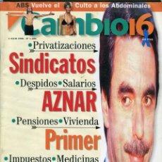 Coleccionismo de Revista Cambio 16: CAMBIO 16 Nº 1284 -JOAQUIN SABINA ENTREV.-JULIA ROBERTS ENTREV.-BRUCE WILLIS ENTREV.- JULIO 1996. Lote 172579309