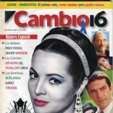 Coleccionismo de Revista Cambio 16: CAMBIO 16 Nº 1278-AT. DE MADRID-JAVIER BARDEM-PACO RABAL-PENELOPE CRUZ- BERLANGA -GARCI. - MAYO 1996. Lote 172579659