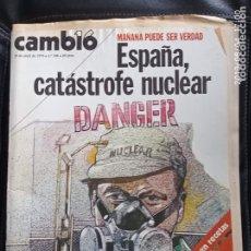Coleccionismo de Revista Cambio 16: CAMBIO 16,N 386. Lote 172944972