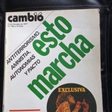 Coleccionismo de Revista Cambio 16: CAMBIO 16,N 306. Lote 172947220