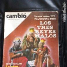 Coleccionismo de Revista Cambio 16: CAMBIO 16,N 370. Lote 172947799