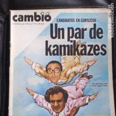 Coleccionismo de Revista Cambio 16: CAMBIO 16,N 374. Lote 172947939