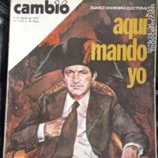 Coleccionismo de Revista Cambio 16: CAMBIO 16,N 278. Lote 172947973