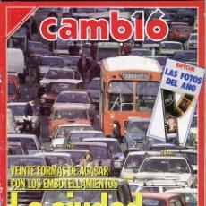 Coleccionismo de Revista Cambio 16: CAMBIO 16 Nº 892 -ESPECIAL LAS FOTOS DEL AÑO (EXCELENTE Y EXTENSO RESUMEN - MANUEL FRAGA -ENERO 1989. Lote 173195055