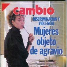 Coleccionismo de Revista Cambio 16: CAMBIO 16 Nº 903 - MADONNA EL ESCANDALO...4 PAGINAS 6 FOTOS - LEHENDAKARI J. A. ARDANZA - MARZO 1989. Lote 174469594