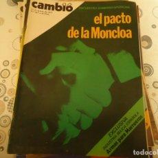 Coleccionismo de Revista Cambio 16: CAMBIO 16 Nº 267. Lote 174634405