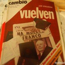 Coleccionismo de Revista Cambio 16: CAMBIO 16 Nº 222. Lote 174659200