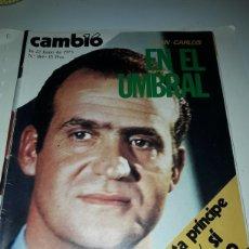 Coleccionismo de Revista Cambio 16: CAMBIO 16 REVISTA N 184 1975. Lote 178327900