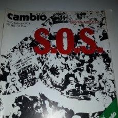 Coleccionismo de Revista Cambio 16: REVISTA CAMBIO 16 N 188 1975. Lote 178328267