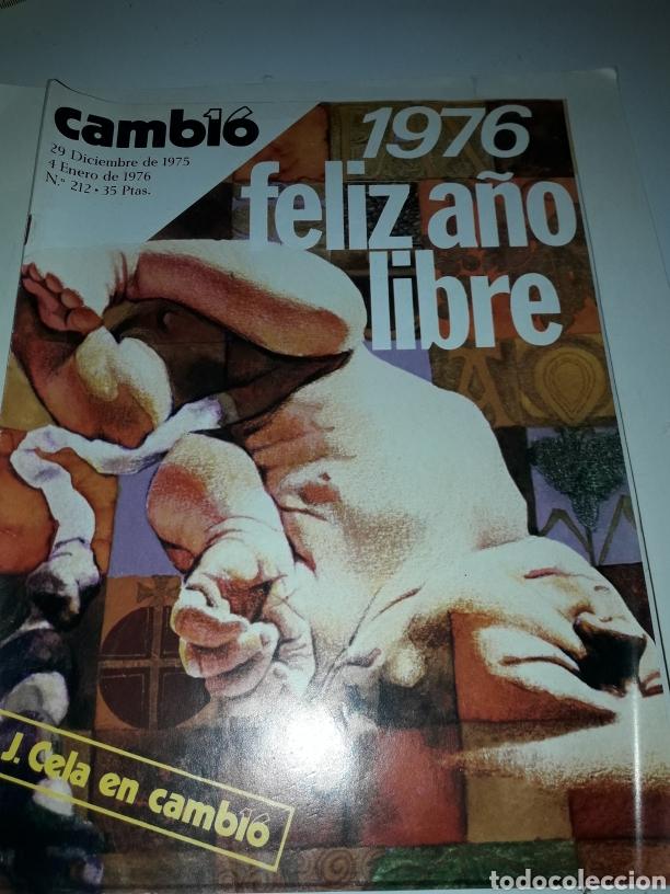 REVISTA CAMBIO 16 N 212 1976 (Coleccionismo - Revistas y Periódicos Modernos (a partir de 1.940) - Revista Cambio 16)