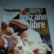 Coleccionismo de Revista Cambio 16: REVISTA CAMBIO 16 N 212 1976. Lote 178328483