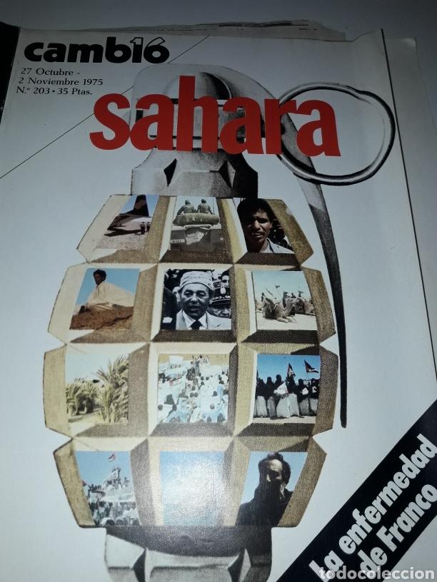 REVISTA CAMBIO 16 N 203 1975 (Coleccionismo - Revistas y Periódicos Modernos (a partir de 1.940) - Revista Cambio 16)