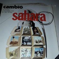 Coleccionismo de Revista Cambio 16: REVISTA CAMBIO 16 N 203 1975. Lote 178328646