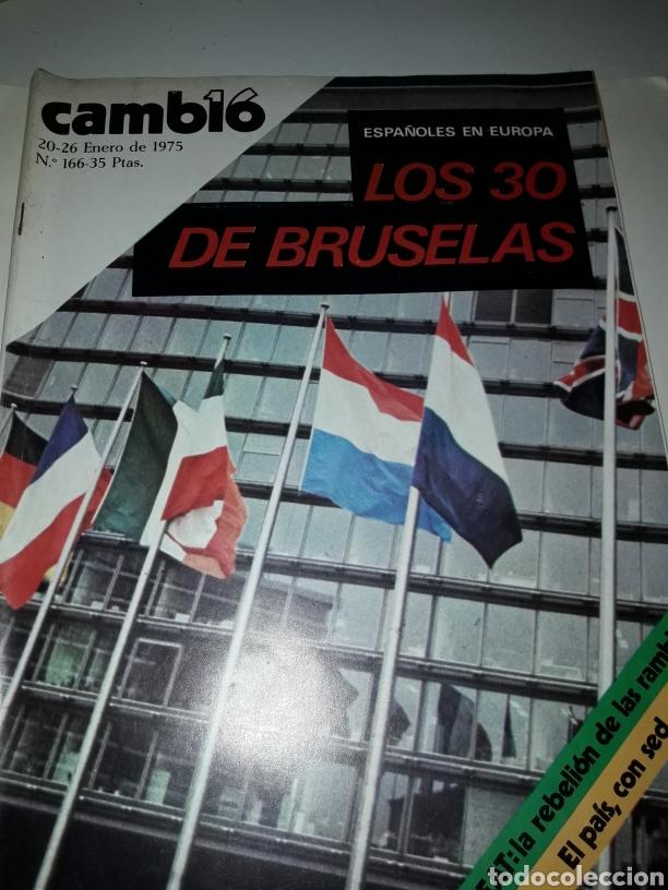 REVISTA CAMBIO 16 N 166 1975 (Coleccionismo - Revistas y Periódicos Modernos (a partir de 1.940) - Revista Cambio 16)